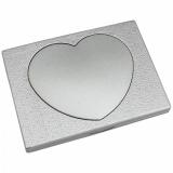 Espelho Bolso Coração Personalizado