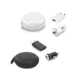 kit Carregadores USB Brindes Promocionais