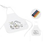Avental de criança para colorir Brindes Personalizados