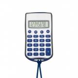 Calculadora Plástica com Cordão Brindes Promocionais
