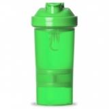 Coqueteleira 400ml Porta Suplementos Brindes Personalizados
