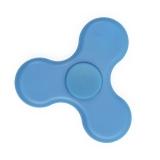 Spinner Anti-Stress Plástico com Led e Bluetooth Brindes Promocionais