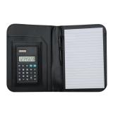 Calculadora com Bloco de Anotações e Caneta Brindes Personalizados