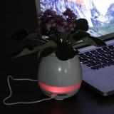 Caixa de Som Vaso com Sensor e Bluetooth Brindes Personalizados