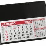 Calendários Calendário de Mesa Grande 40L Brindes Promocionais