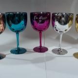 Taça Gin Metalizada Brindes Personalizados