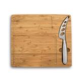 MALVIA. Tábua de queijos em bambu com Faca Brindes Personalizados